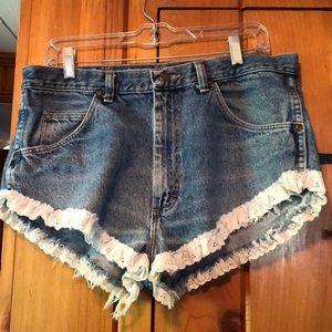 Wrangler Upcycled Shorts